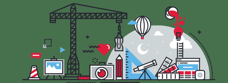 Graphic design actinium service