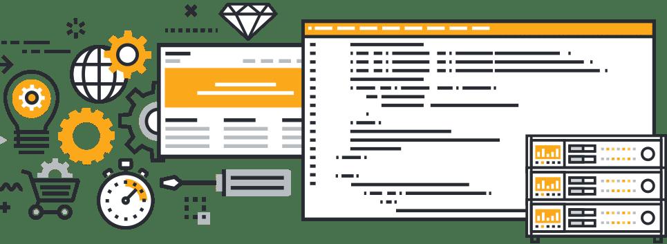 web developing actinium