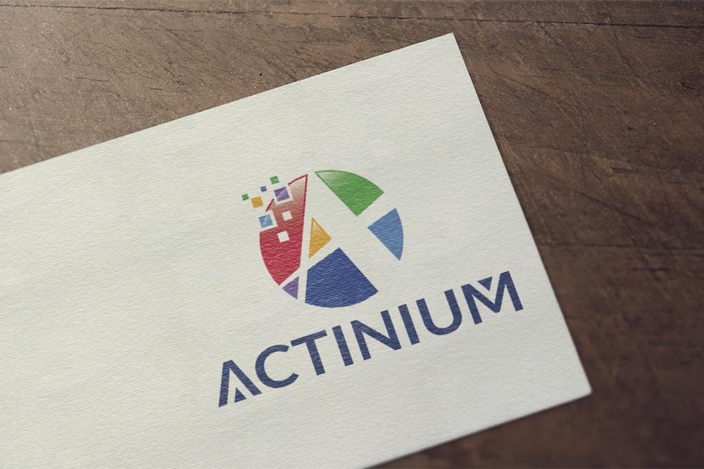 Actinium logo showcase